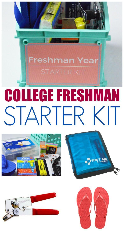 Awesome College Freshman Gift Idea Freshman Starter Kit