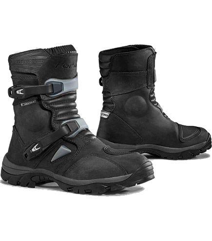 forma adventure low boots black pinterest vetement moto chaussures moto bottes moto. Black Bedroom Furniture Sets. Home Design Ideas