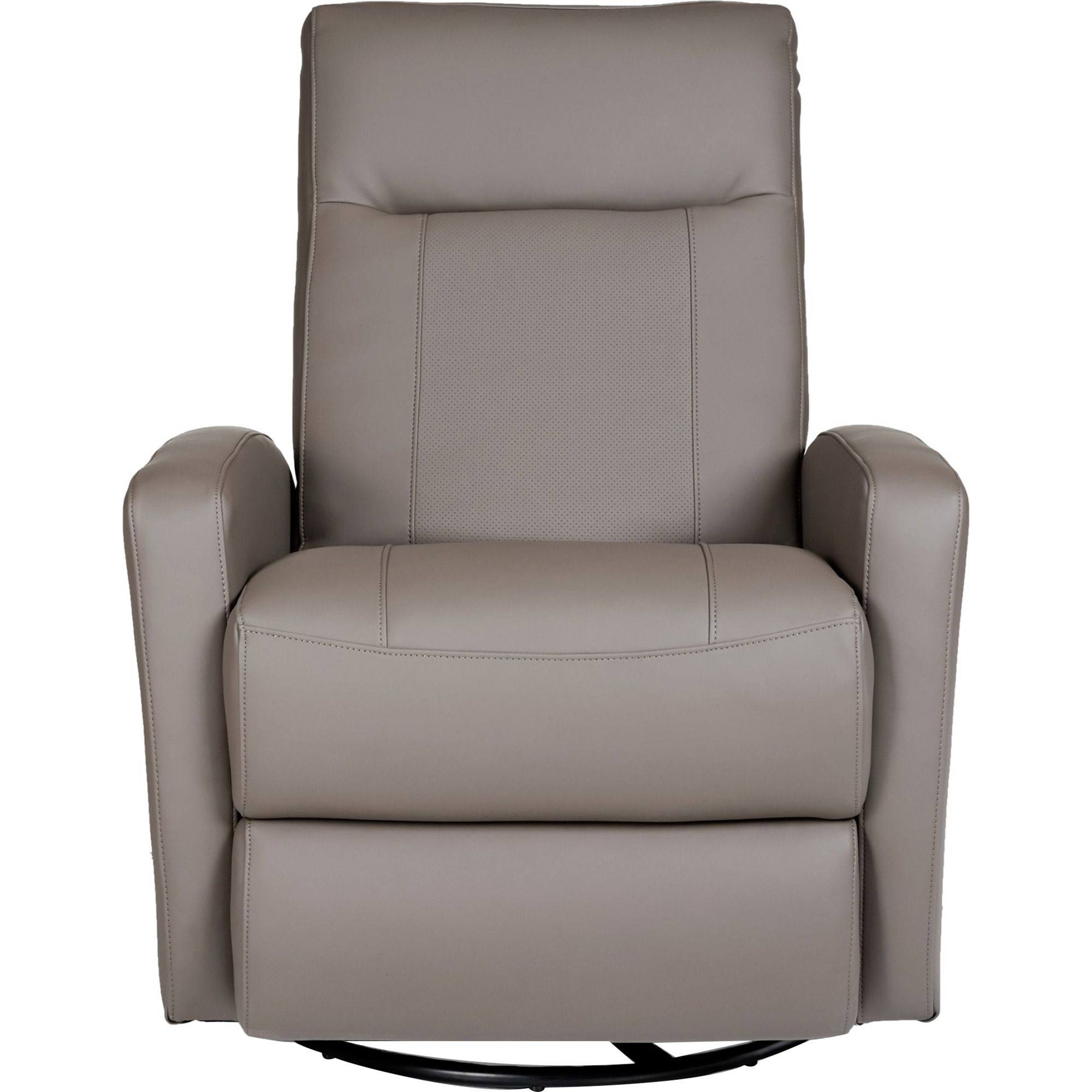 Stefan Swivel Glider Recliner in Gray   Opulence Home Furniture   Home  Gallery Stores