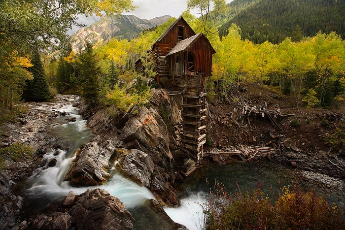 The Crystal Mill Marble Colorado The Now Ghost Town Of