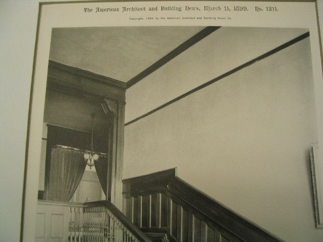 Staircase Of The Genesee Valley Club House Rochester Ny