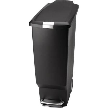 Black Thin Tall Kitchen Trash Can Google Search Trash Can