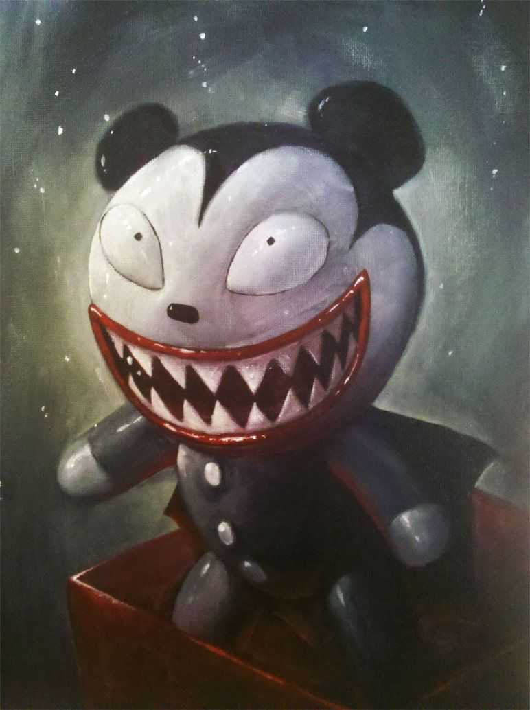 Nightmare Teddy by GraphicGeek I love this thing. I want one of my ...