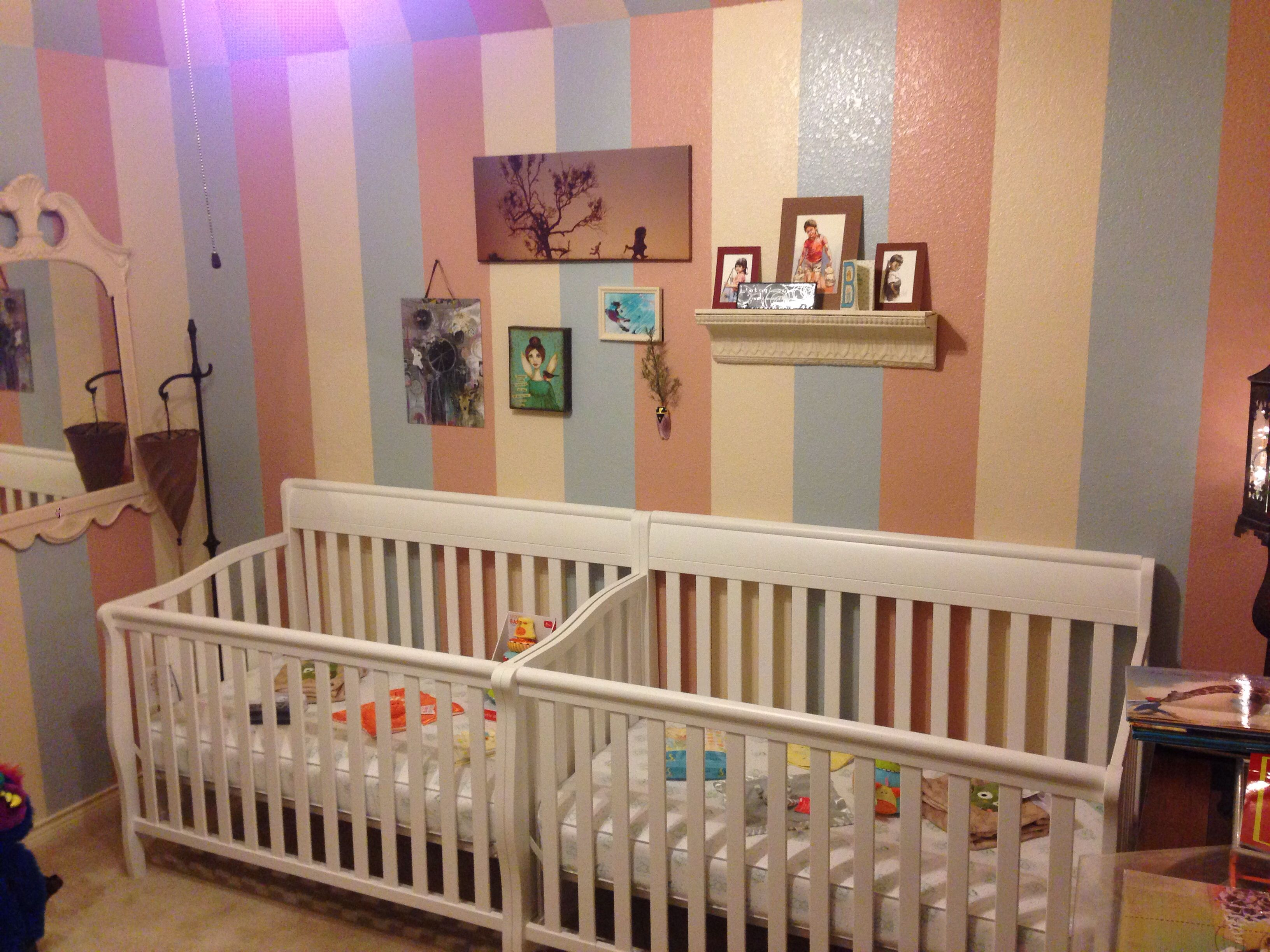 Twin's Cribs | Twin baby beds, Girls twin bed, Twin babies