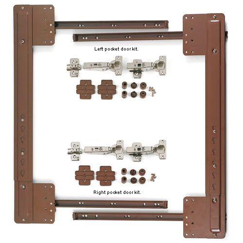 Blum Pocket Door Kits Hardware Door Kits Kitchen Remodel Inspiration Pocket Doors