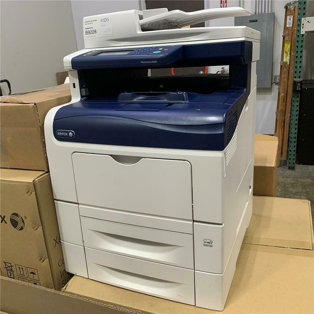 Xerox Workcentre 6605 6605dn Business 36ppm B W Professional Color