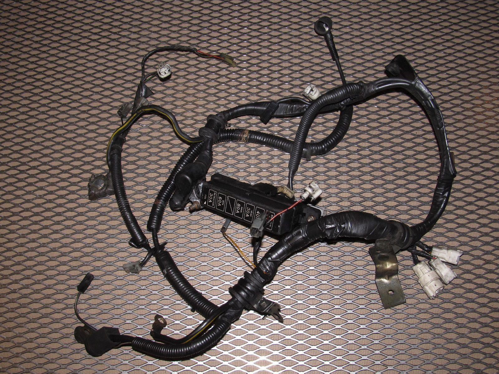 hight resolution of 86 87 88 mazda rx7 oem m t transmission wiring harness