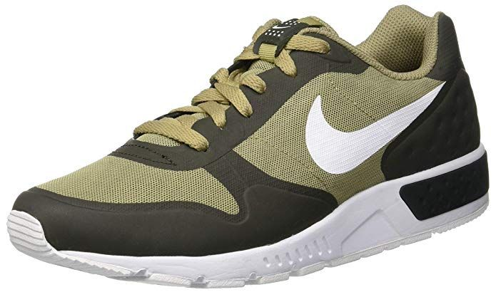 online store b58a1 2fb00 NIKE Nightgazer LW Se, Sneakers Basses Homme, Multicolore (Neutral  Olive White