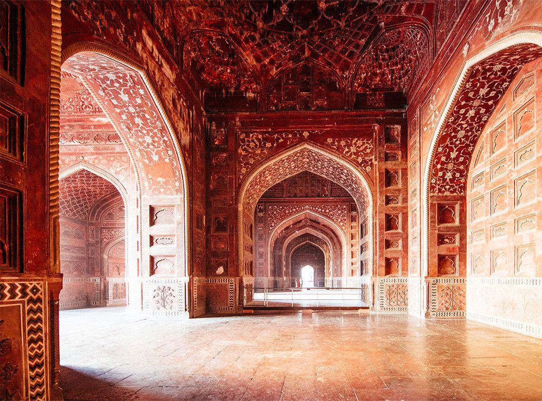 Alpina Feine Farben No 26 Duft Des Orients Die Luft Ist Erfullt Vom Duft Edler Gewurze Wie Zimt Muskat Und Kardamom Ei Taj Mahal Feine Farben Architektur