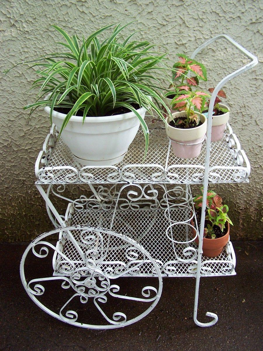 Flower Cart Patio Furniture Porch Furniture Home
