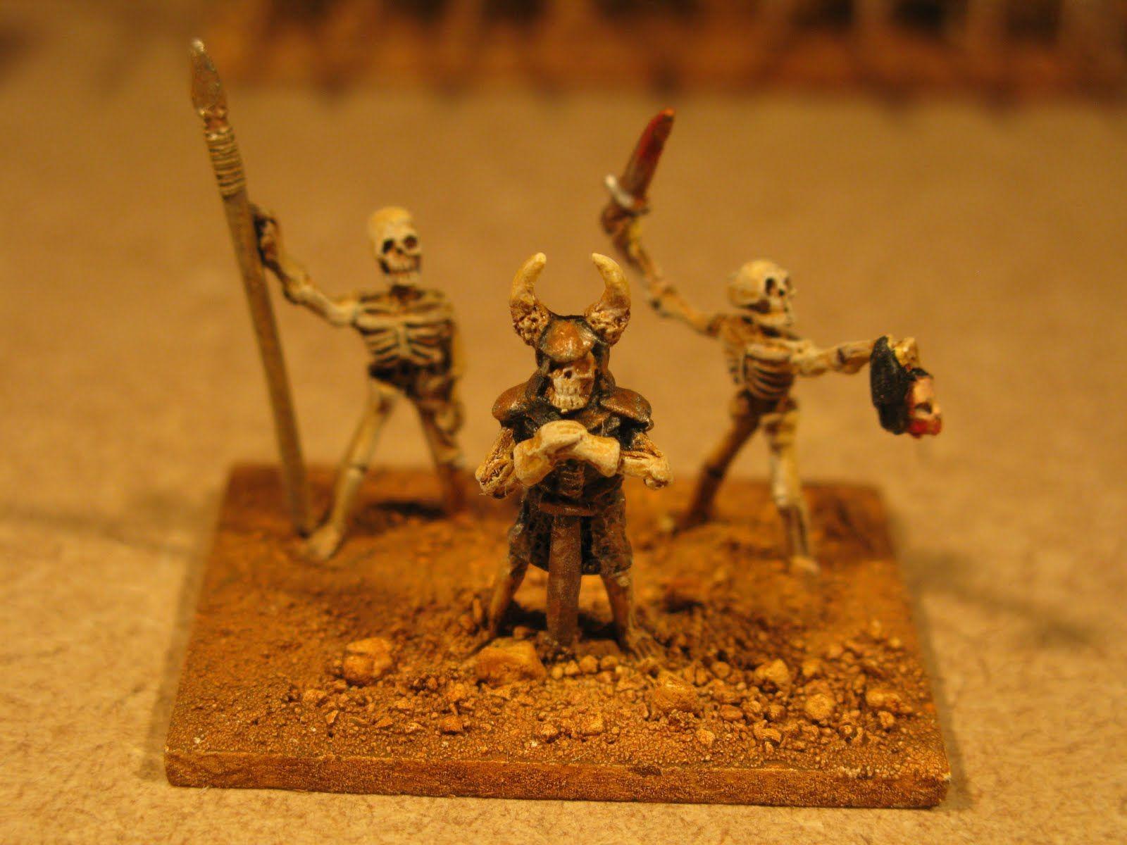 Jim's Wargames Workbench: HOTT 15mm Skeleton Army | hunter's 6th