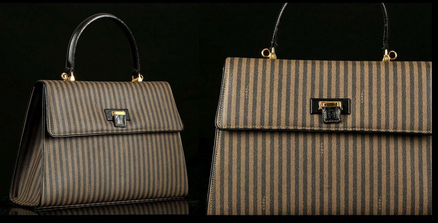40b9bb435d20 VINTAGE FENDI  KELLY  BAG