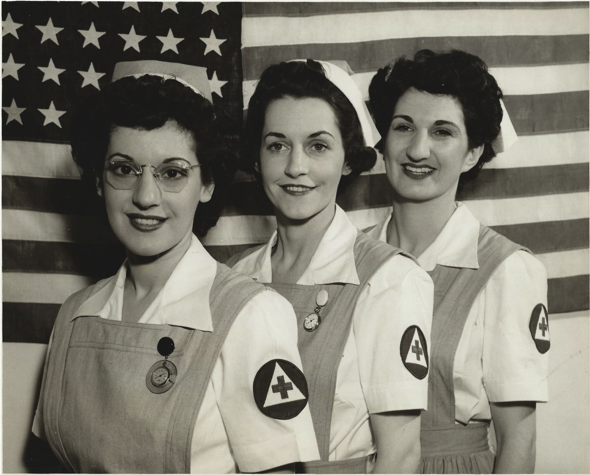 Left To Right Marilyn Becker Norma Barnes Florence