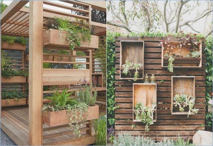 Garden Ideas With Wood Garden Ideas Wooden Planters Backyard Beautiful Gardens