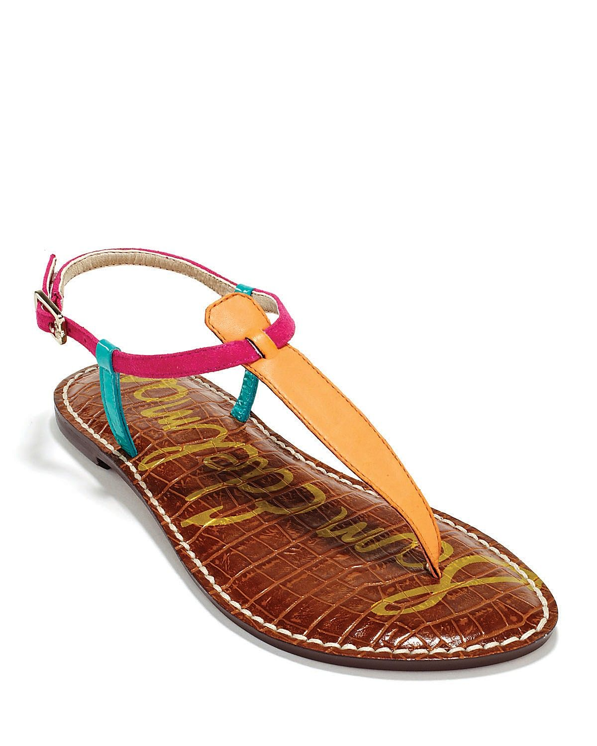 540d3d2ea0cff I always love the basic summer sandal...this Sam Edelman Gigi is so bright  and colorful!
