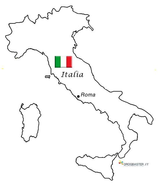 Risultati Immagini Per Italia Da Stampare E Colorare 1b Narcisi
