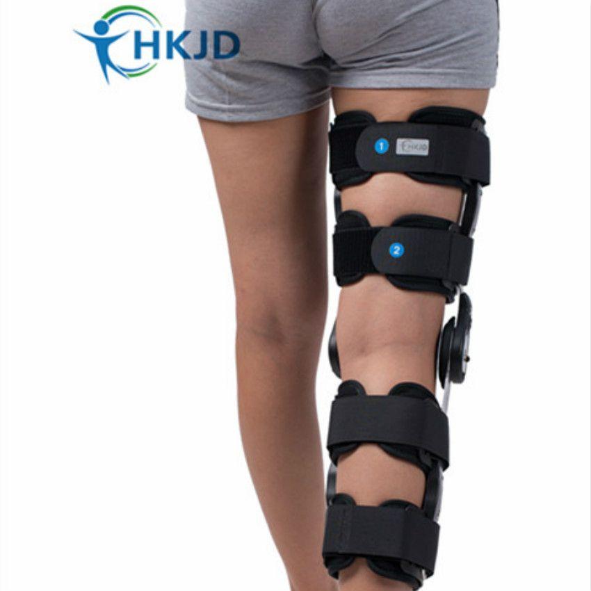 3d49068cea Health Care Orthopedic Knee Support Knee Brace Hinged ROM Knee Brace Rom  Angle Adjustable Hinge Osteoarthritis