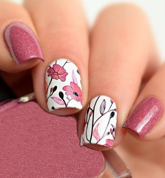 50 Funky and Gorgeous Summer Nail Art Ideas to Match Your Summer ...