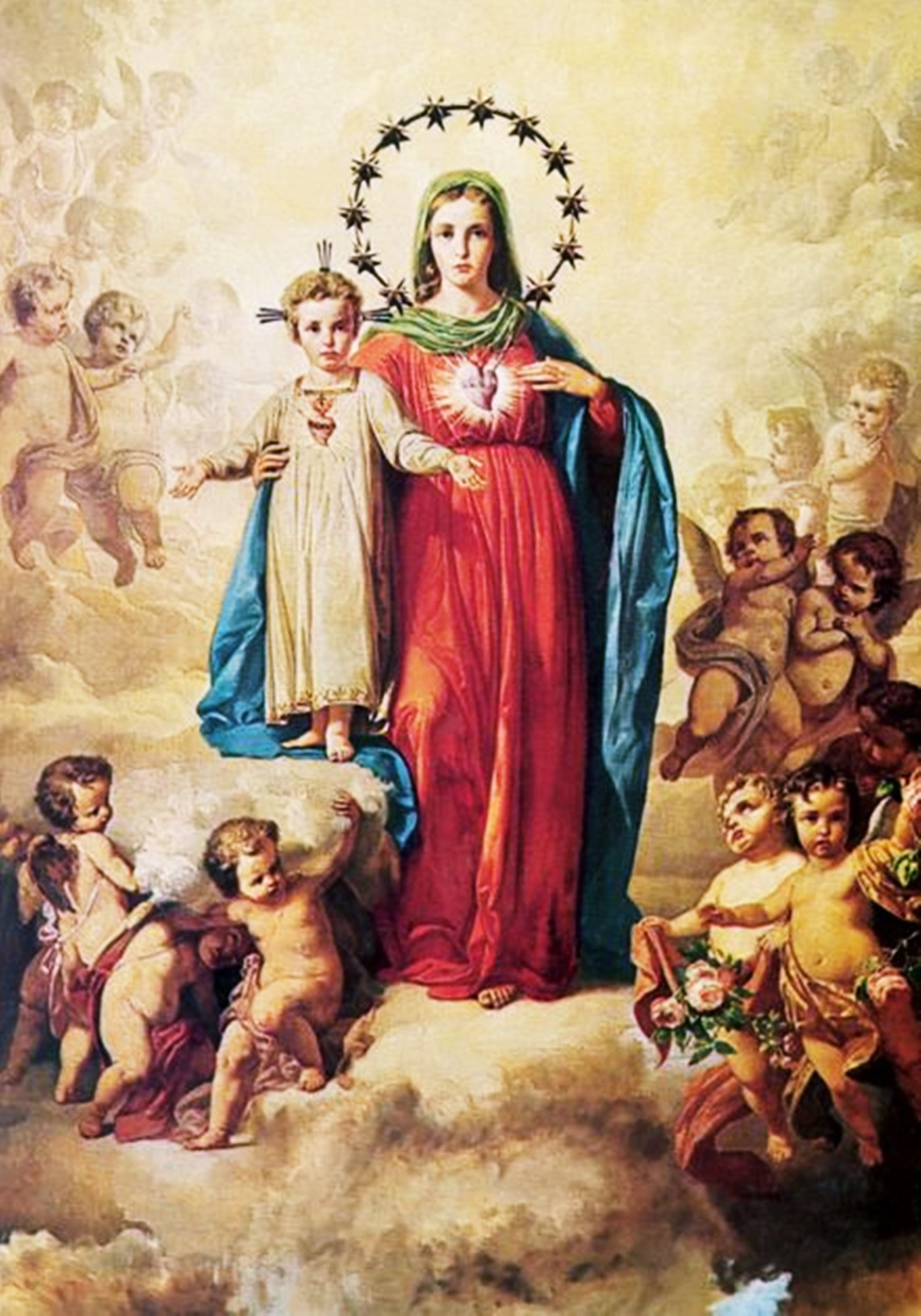 MariaImmacolata Angel Blessed Mother Mary Holy Mary