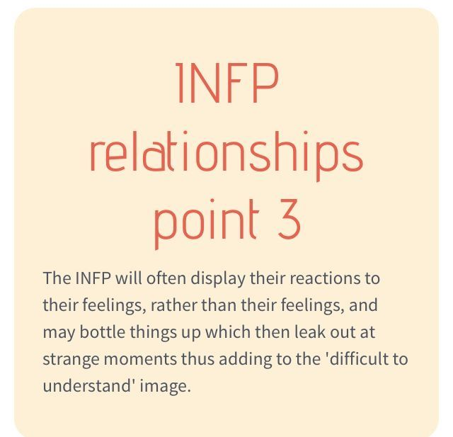 INFP Relationships Love & Compatibility