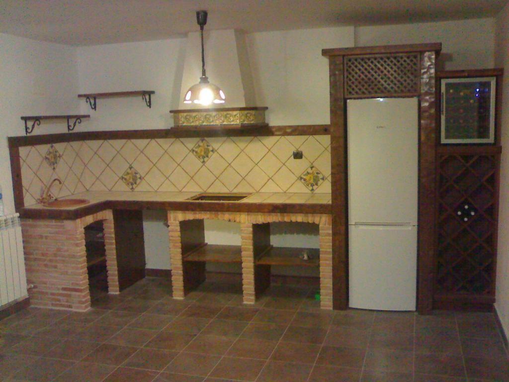 Cocina ladrillo viejo 1 [0] #cocinasrusticasladrillo ...