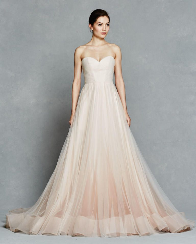 Kelly Faetanini Bridal Collection 2017 blush wedding gown#weddingdress #bridal