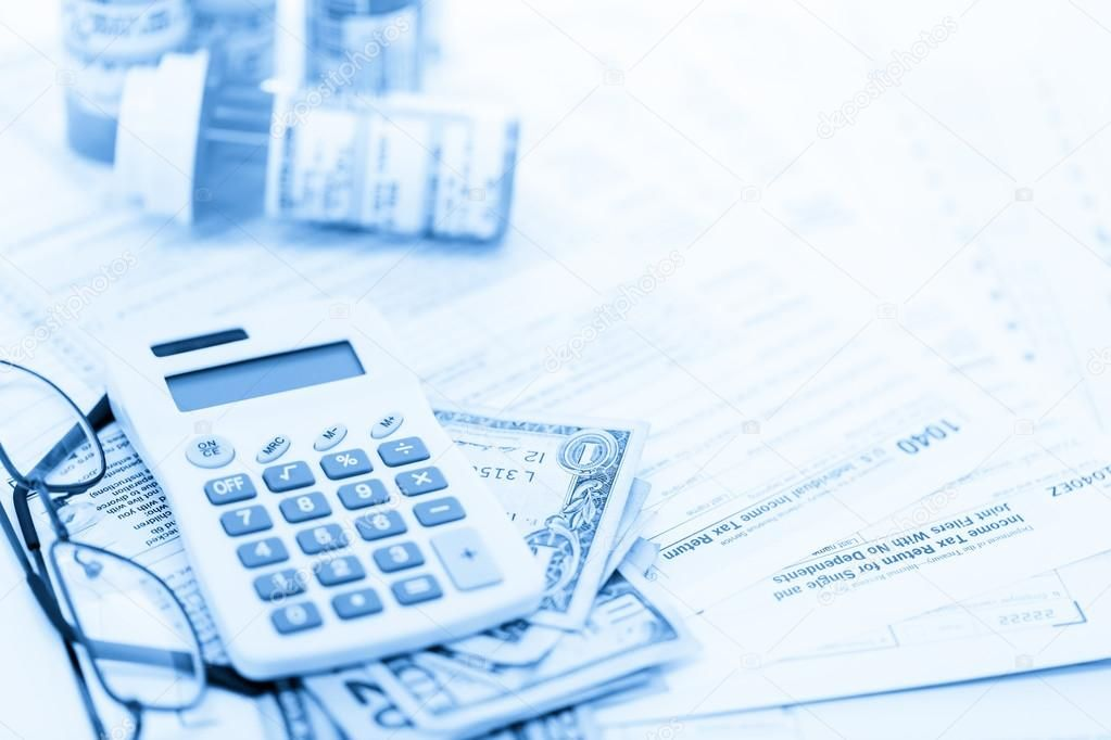 Calculating tax return with folded cash stock