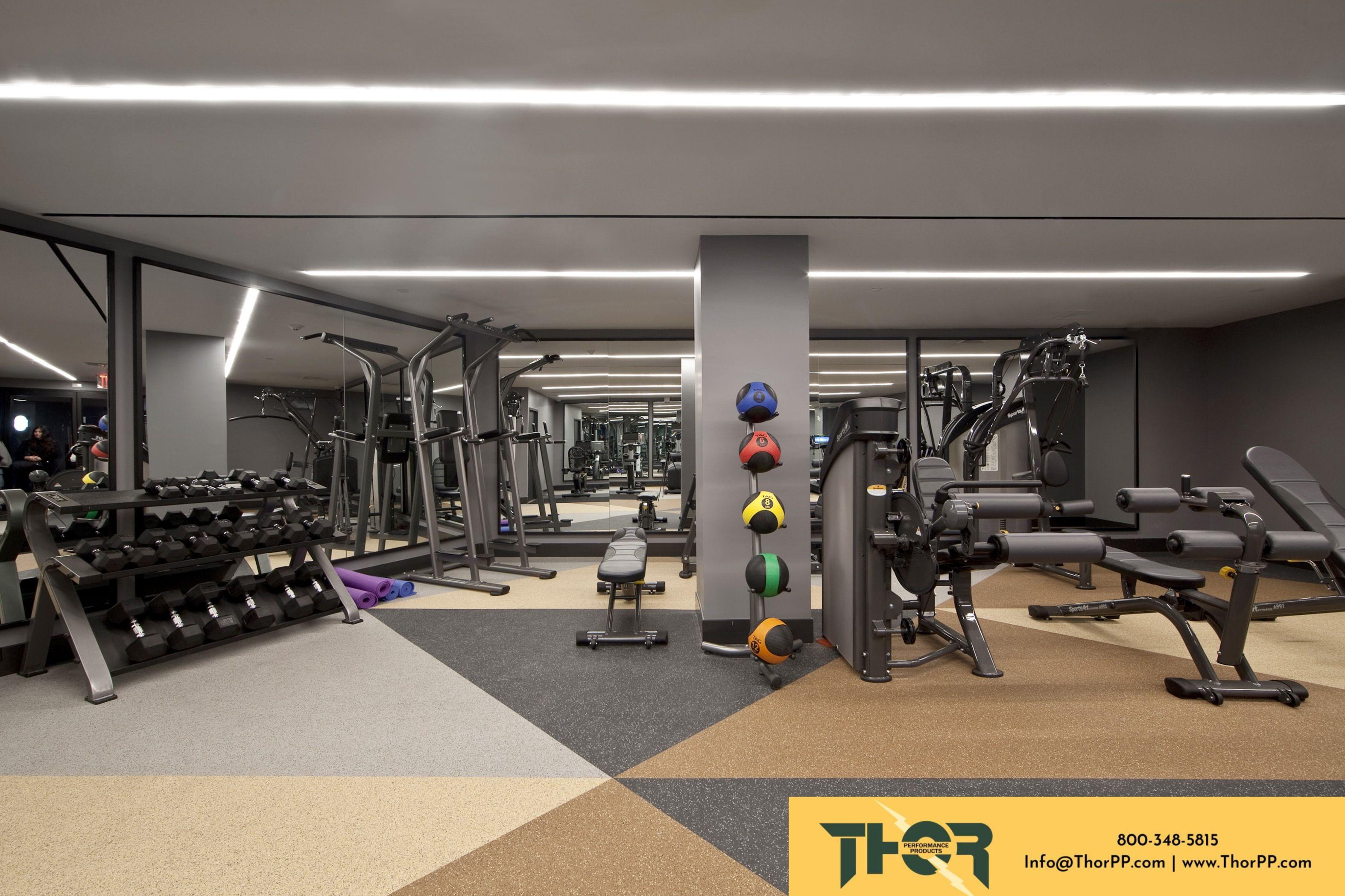 Flooring For Amenity Fitness Centers Wellness Design Residences Floor Installation