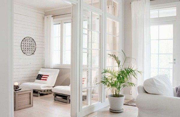 raumtrenner glas trennwände wohnzimmer raumteiler | wohnungsideen, Wohnzimmer