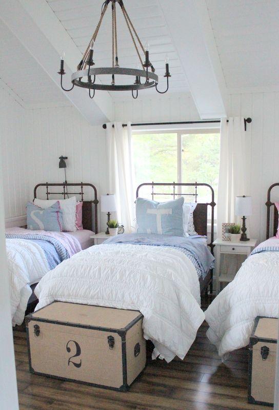 terrific boys bedroom | Pin by Cheryl Sullivan on Cabin Bedrooms / Bunk Room | Kid ...