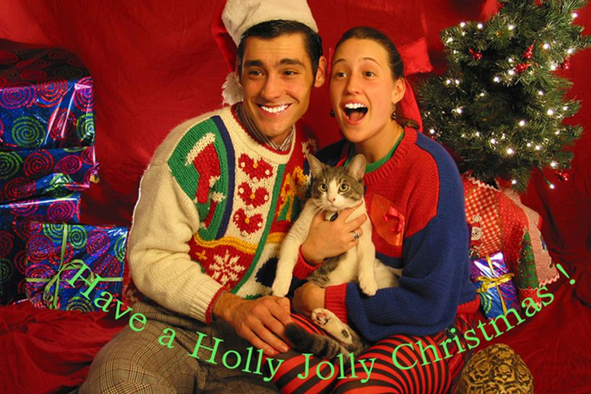 Couples Christmas Cards Ideas.Funny Couples Christmas Card Photo Ideas Merry Christmas