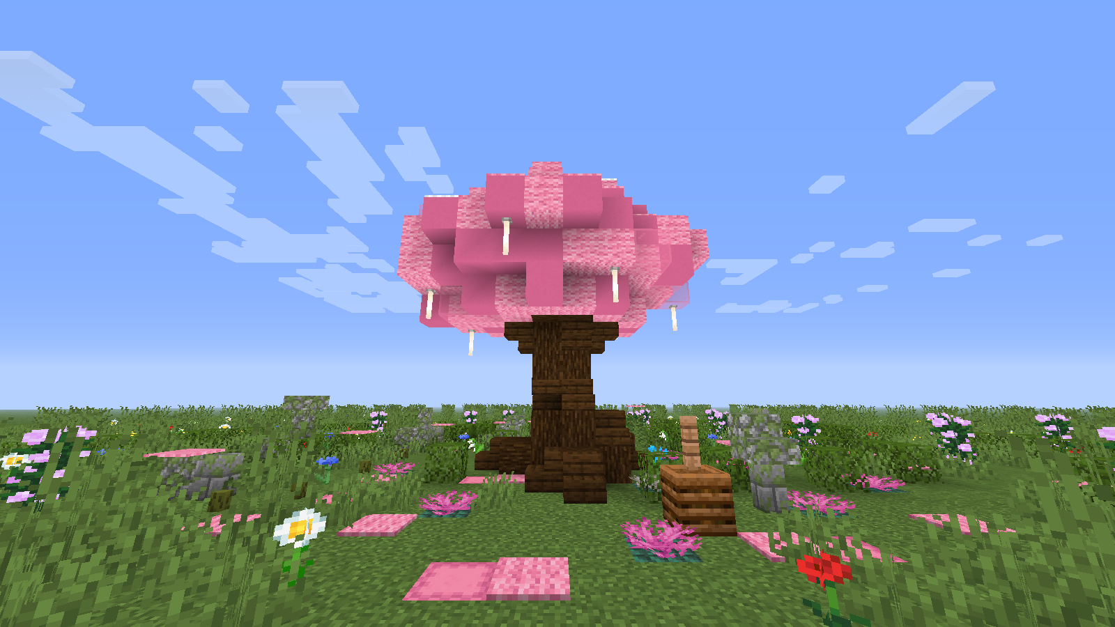 Google Image Result For Https I Redd It R12t1hoky2931 Png Minecraft Interior Design Minecraft Blossom Trees
