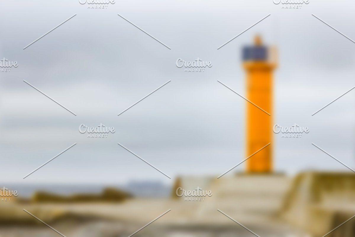 Photo of Yellow lighthouse – blurred image #Sponsored , #Sponsored, #soft#lens#Yellow#lig…