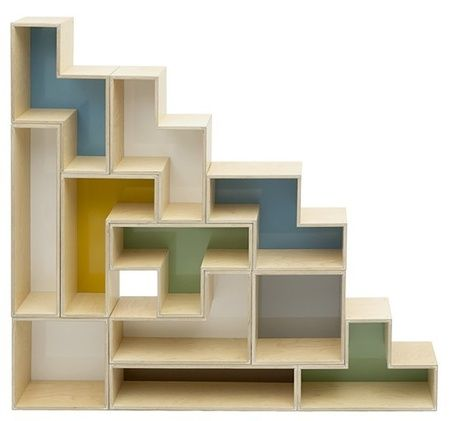 Tetris Kast Interior Shelves Shelf Design Design