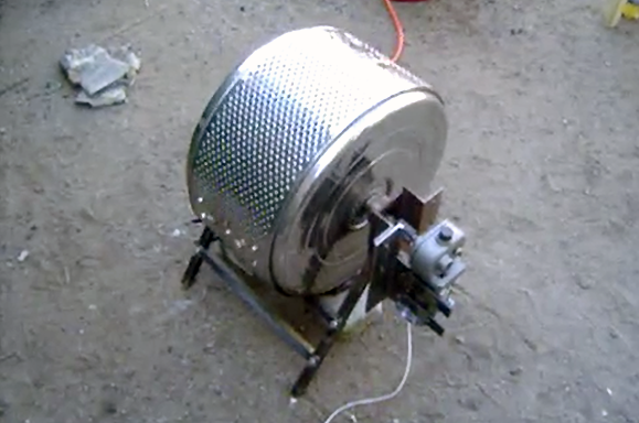 """This repurposed washing machine makes a great coffee roaster 