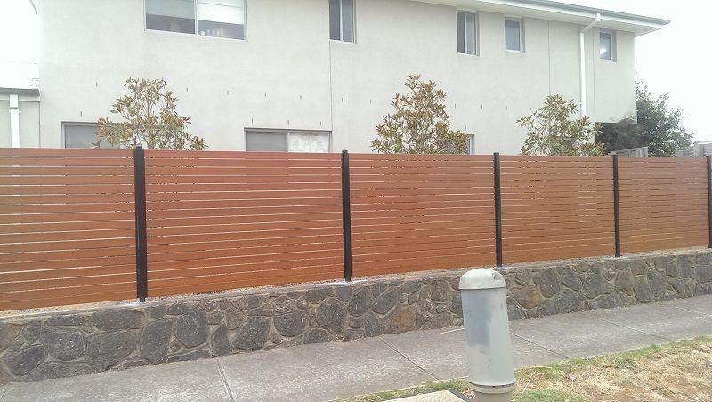 Aluminium Slat Fencing Everlast Fencing Melbourne Aluminum Fence Fence Slats