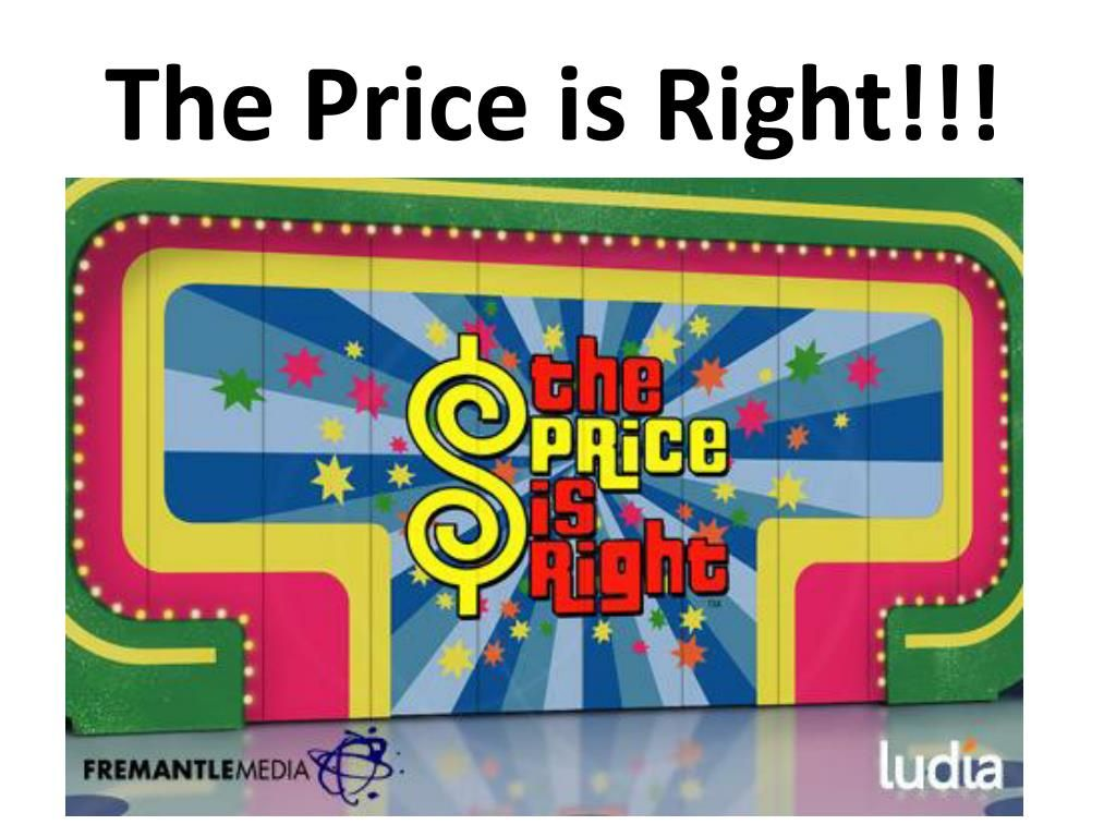 The Exciting Ppt The Price Is Right Powerpoint Presentation Free Intended Powerpoint Presentation Powerpoint Game Templates Jeopardy Powerpoint Template