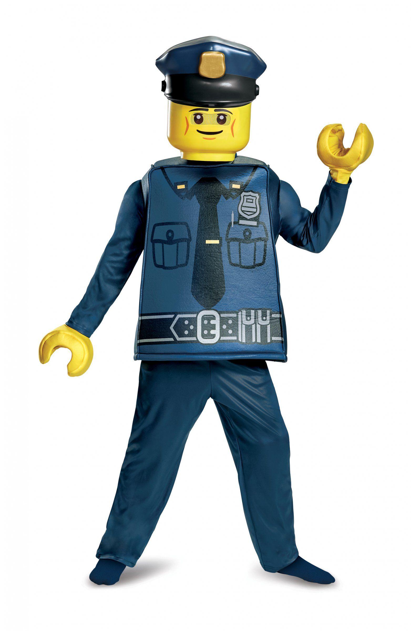 Lego™ polizist kinderkostüm für jungen bunt | Polizist, Karneval und ...