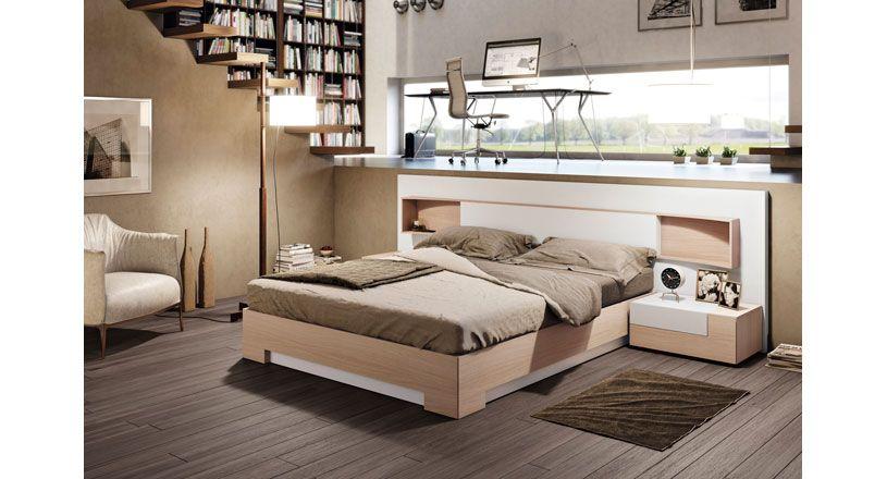 Pk454 mobiliario dormitorios cama for Mobiliario dormitorio