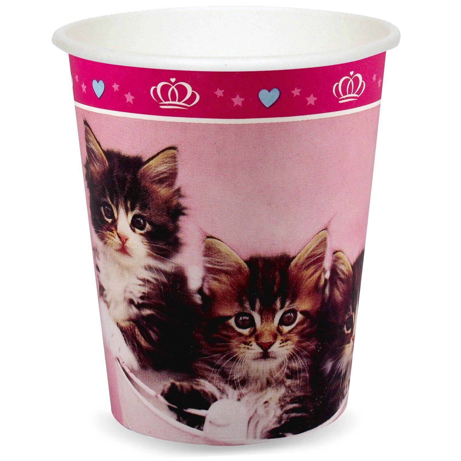 Amazon Party Destination 234960 Rachaelhale Glamour Cats 9 Oz Cups Toys Games