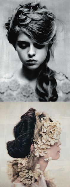 love her hair (is it just me, or does she look like princess beatrice?). images by ryan kobo...