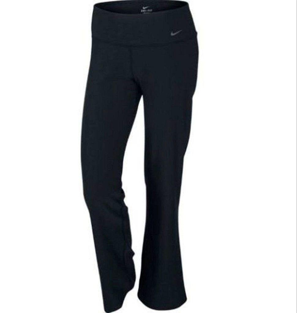 dceb54a3da681 NIKE Womens Legend 2.0 Training Pants Regular Fit Black 849999-010 ...