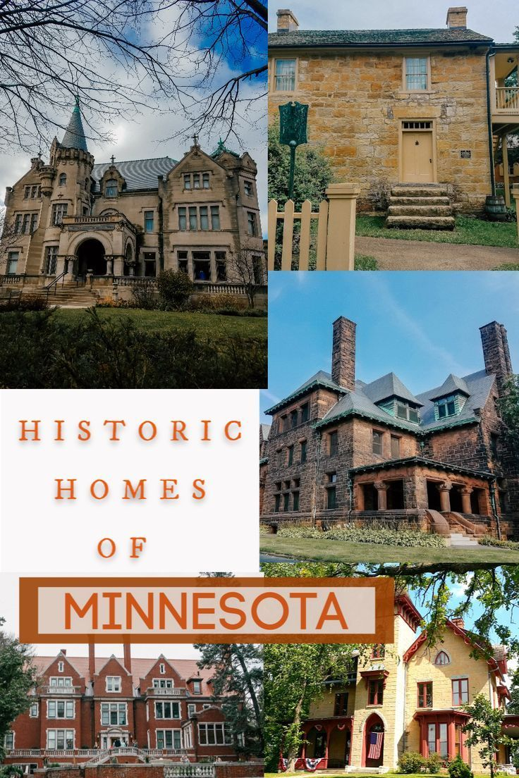 Best Historic Homes to Tour in Minnesota | The Mama Report #historichomes