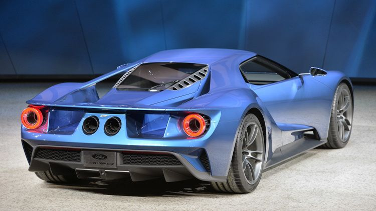 Ford Gt Getsy Shape And Ecoboost Power