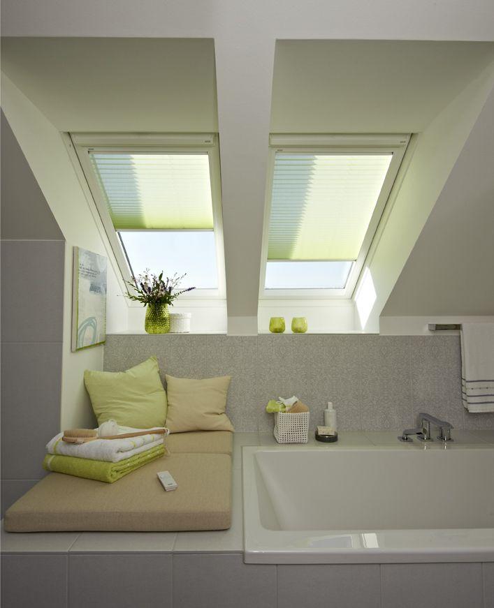 VELUX Sonnenschutz-Produkte - Attic Ideas - Pinterest - rollos f r badezimmer