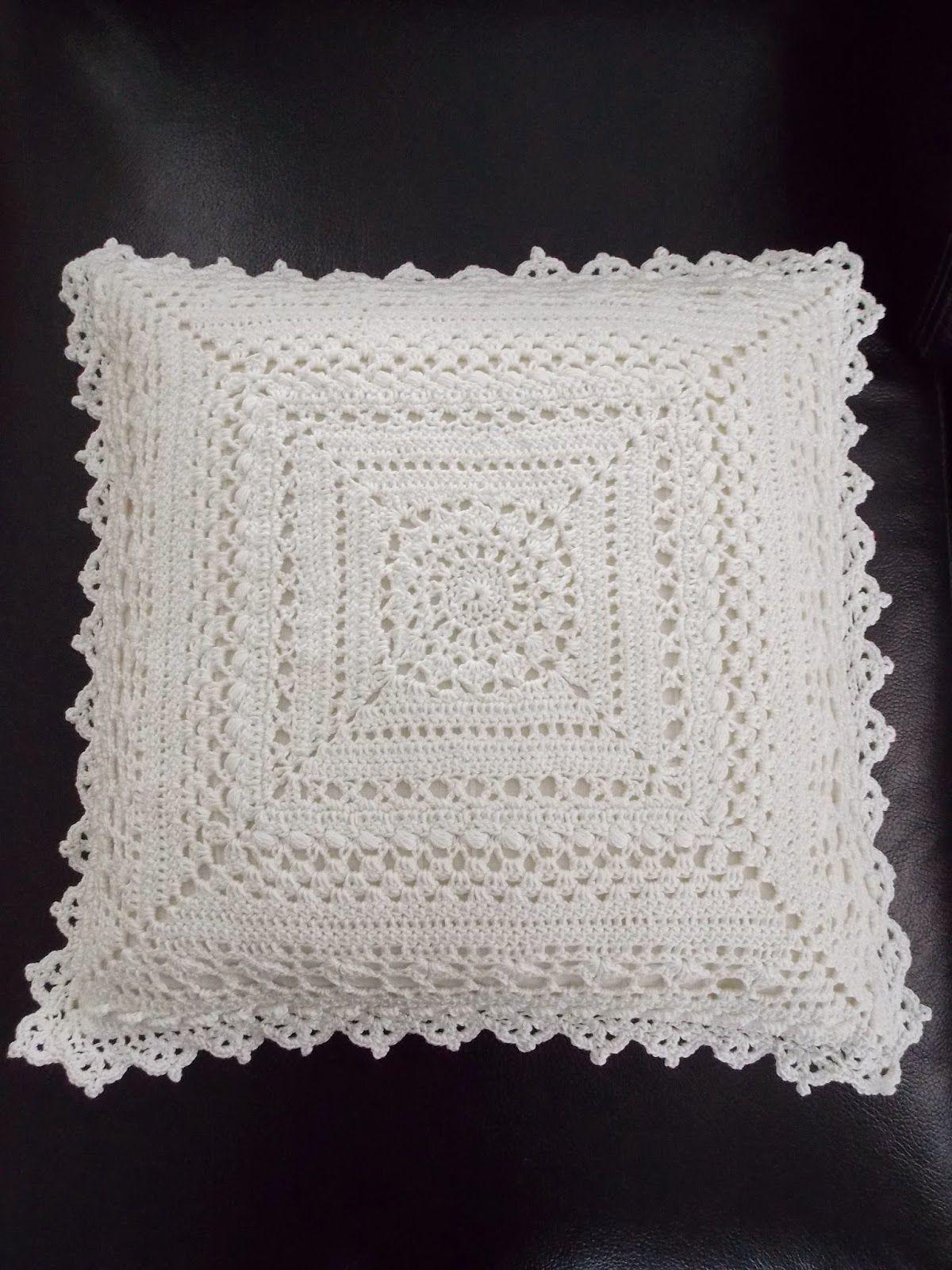 Kussen (met link naar gratis patroon) / cushion (with link to free ...