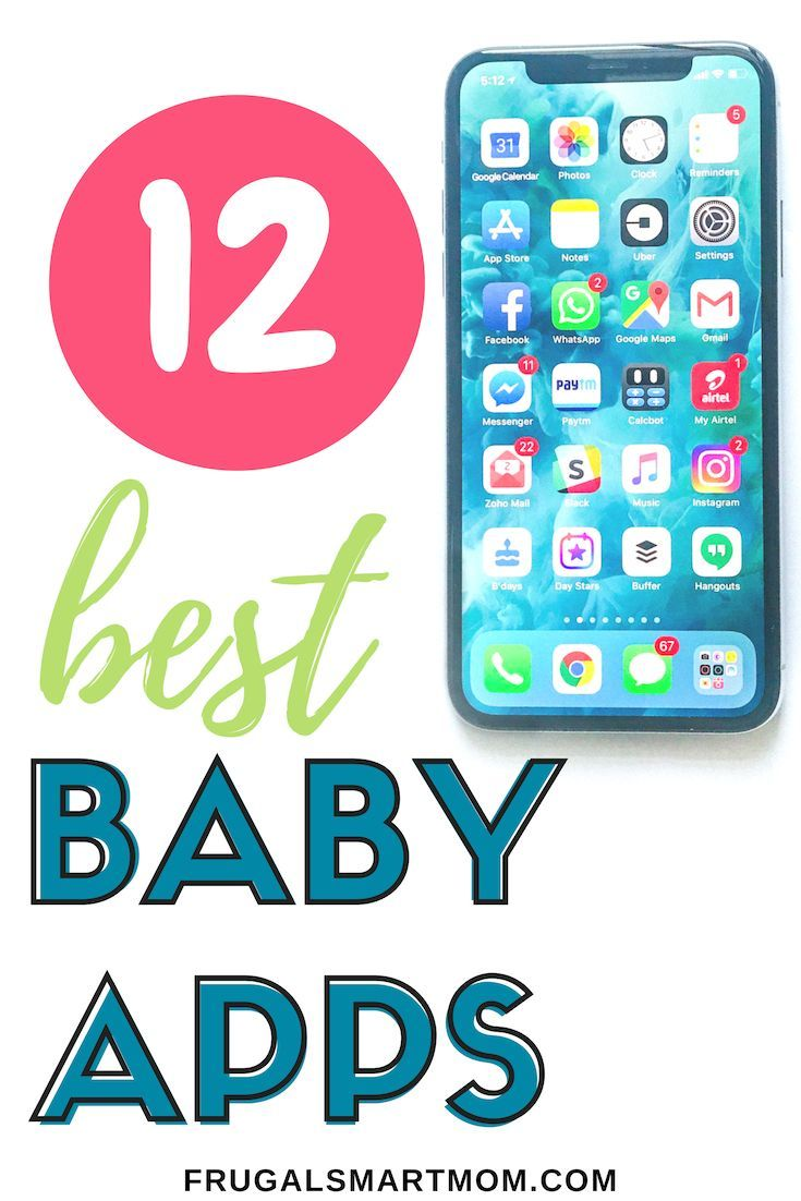Best Baby Apps to Make Life Easier   Baby apps Best baby ...