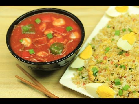 Chicken shashlik with egg fried rice recipe sooperchef chinese food forumfinder Choice Image
