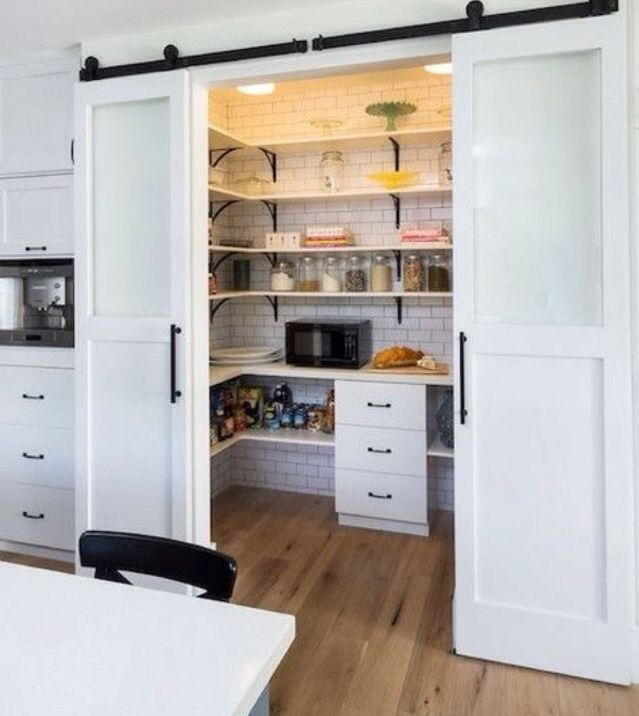 Pantry Door Idea Our New Home Pinterest Barn Doors And House