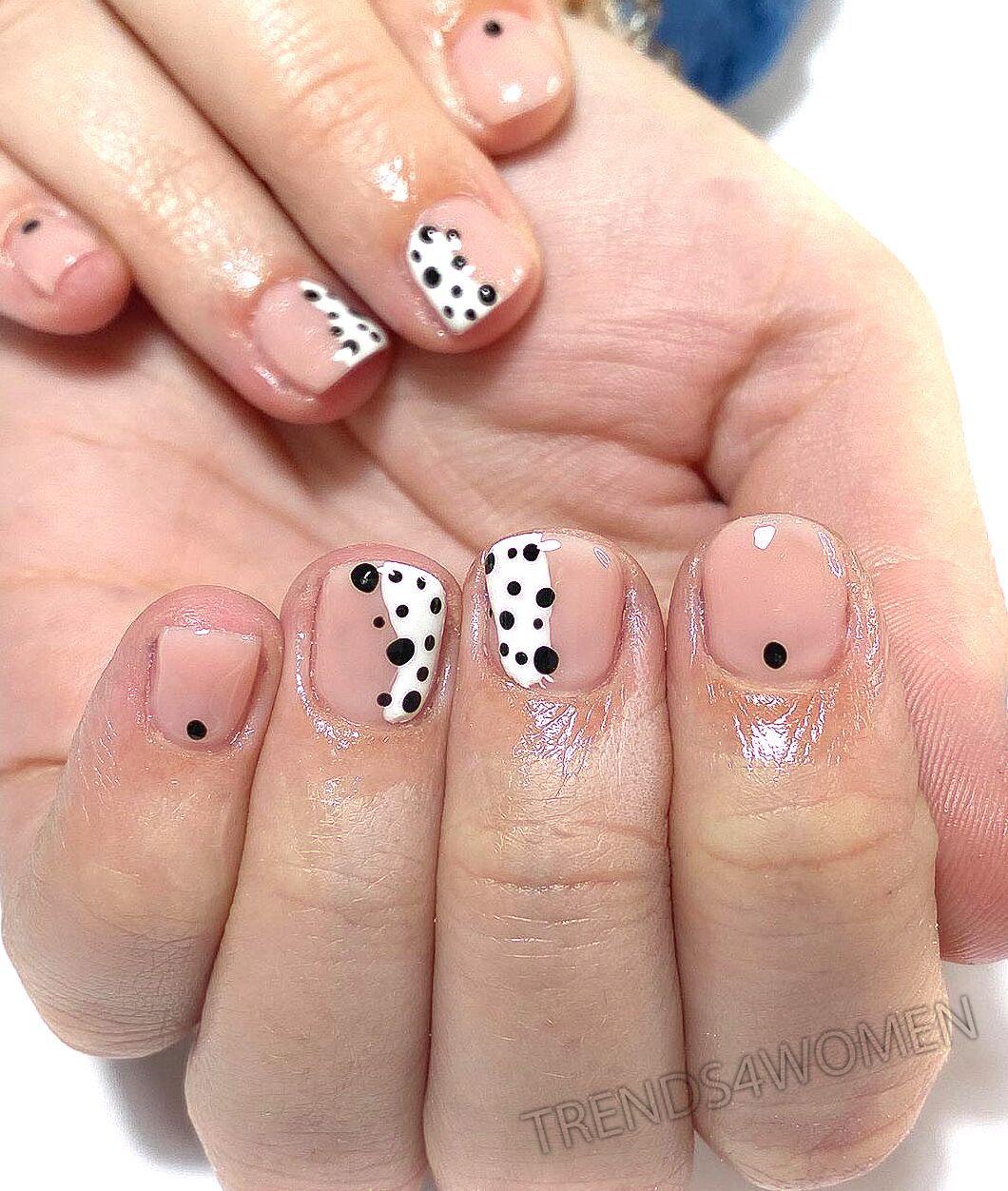 #nolasnails #nails #abstractart #dotnails #nudenails #abstractnails #nailart #naildesign #naturalnails #instanails #homesalon #nailtechnician #essex